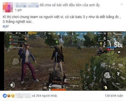 Choi qua ban game thu Viet Nam bi nuoc ngoai tay chay trong PUBG Mobile