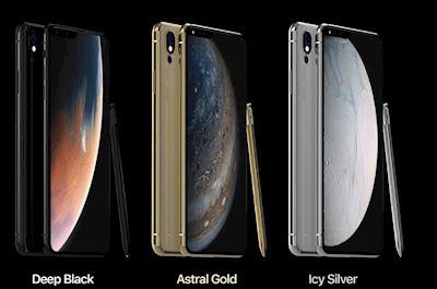 Concept iPhone 2019 độc lạ khi kèm bút cảm ứng và màn hình tràn cạnh