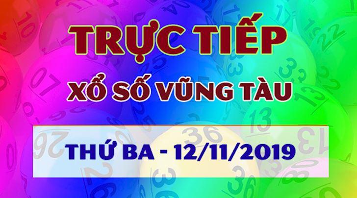 XSVT 12/11 - Trực tiếp kết quả xổ số Vũng Tàu thứ 3 hôm nay 12/11