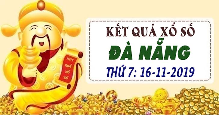XSDNA 16/11 hôm nay - Xổ số Đà Nẵng ngày 16 tháng 11 năm 2019