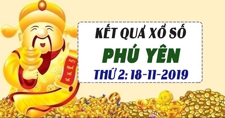 Xổ số Phú Yên thứ 2 hôm nay ngày 18 tháng 11 năm 2019 - XSPY 18/11