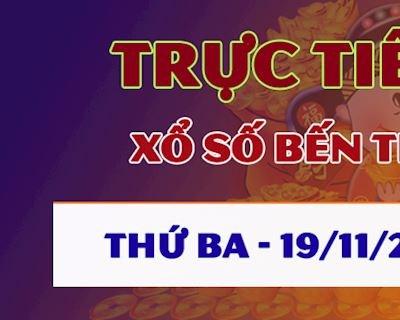 Kết quả xổ số Bến Tre thứ 3 hôm nay 19/11/2019 - Trực tiếp KQ XSBTR 19/11