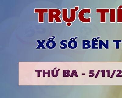 Kết quả xổ số Bến Tre thứ 3 hôm nay 5/11/2019 - Trực tiếp KQ XSBTR 5/11
