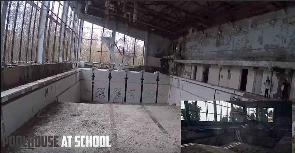 Quyet tam tim ra nhung thang canh trong PUBG game thu lang thang den Chernobyl