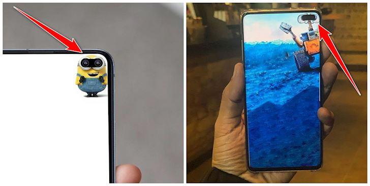 Cái khó ló cái khôn, Sam fan nghĩ ra cách 'giấu' đi cam trước xấu xí trên Galaxy S10 'bá đạo'