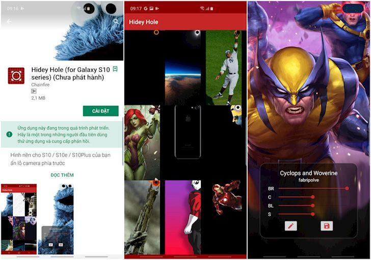 Mời anh em tải app miễn phí giúp che dấu camera trước mọi chiếc Galaxy S10