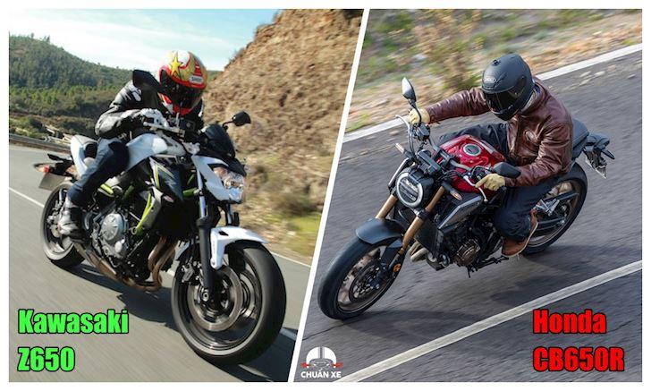 Mô tô 650cc chọn Kawasaki hay Honda?