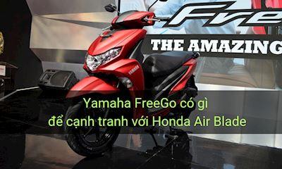Yamaha FreeGo tuổi gì so với Air Blade và Vario
