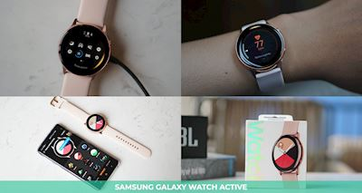Trên tay Galaxy Watch Active, chiếc đồng hồ sinh ra dành cho tín đồ thể thao và năng động