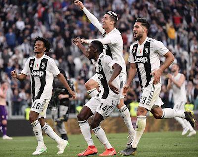 Đánh bại Fiorentina, Juventus chính thức vô địch Serie A
