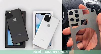 Rò rỉ ảnh trên tay thực thế bản khung iPhone 2019 với 3 camera