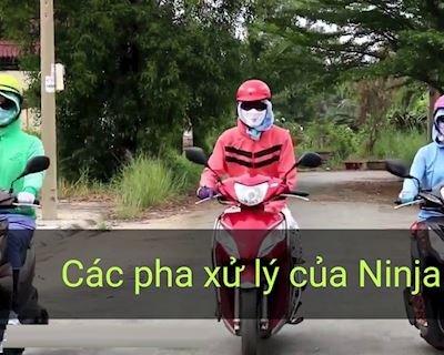 Ninja Lead và những pha xử lý thần thánh trên đường