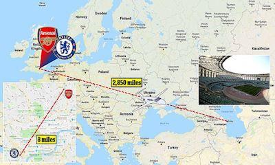 CĐV Arsenal-Chelsea khóc thét vì phải bay 1/4 vòng trái đất để xem derby London