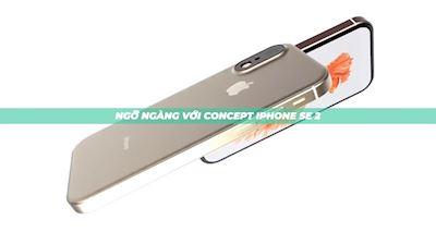 [CLIP] Xuất hiện concept iPhone SE 2 mới, đây là bản hoàn thiện cuối cùng của Apple?