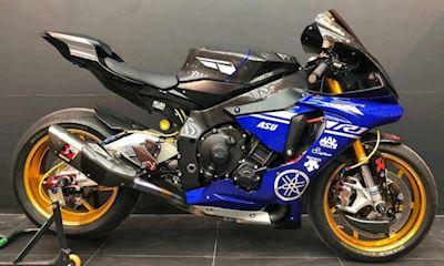 Yamaha R1 lên đồ chơi xe đua MotoGP chất lừ