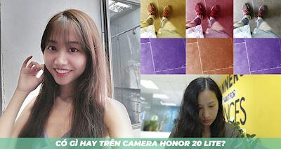 Chia sẻ một số thứ hay ho trên camera Honor 20 Lite