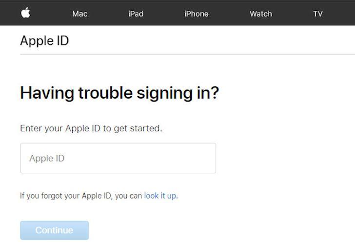 Lam gi khi Apple ID bi vo hieu hoa 3