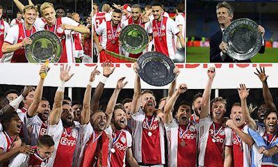Ajax vô địch Hà Lan, chia tay lứa thế hệ Vàng trẻ