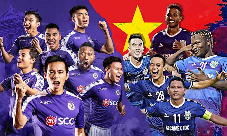 Lịch thi đấu bán kết AFC Cup 2019 của Hà Nội và B.Bình Dương
