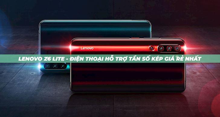 Lenovo Z6 Lite tầm trung sắp lên kệ với tính năng độc qua mặt nhiều smartphone cao cấp