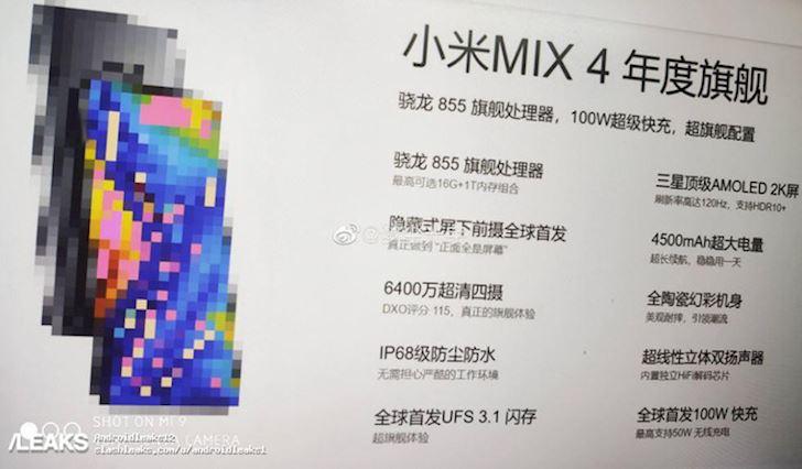 Ro ri Xiaomi Mi Mix 4 2