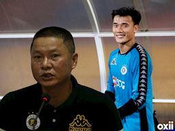 Lại dùng Bùi Tiến Dũng, Hà Nội FC thua đau Nam Định