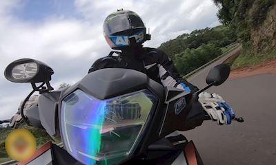 Kỹ năng phanh an toàn khi ôm cua - Riding Skill #10