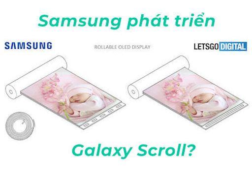 Quen Galaxy Fold di Samsung phat trien dien thoai man hinh cuon 1