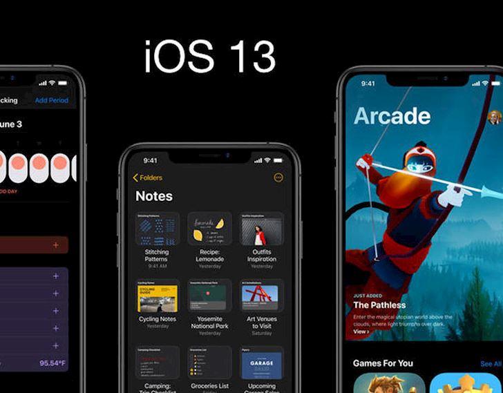 Cach ha cap tu iOS 13 Beta xuong iOS 12 3 11