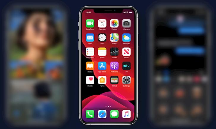 Cach ha cap tu iOS 13 Beta xuong iOS 12 3 12