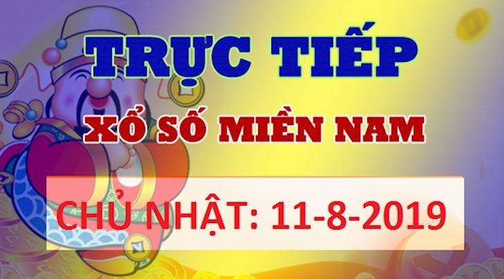 Kết quả xổ số Miền Nam CHỦ NHẬT Hôm Nay - KQ XSMN 11/8