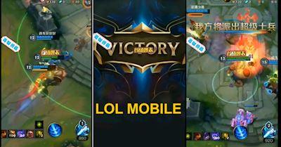 Video về LMHT Mobile đã bị rò rỉ khiến cho