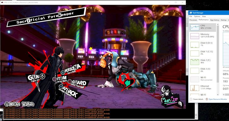 Huong dan gia lap Persona 5 tren PC