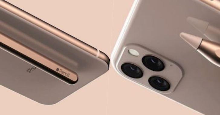 Tưởng tượng iPhone 11 Pro hỗ trợ bút cảm ứng Stylus