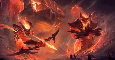 LMHT 9.17: Lộ diện loạt trang phục Hỏa Ngục và Thần Rừng đẹp siêu cấp thiên hà