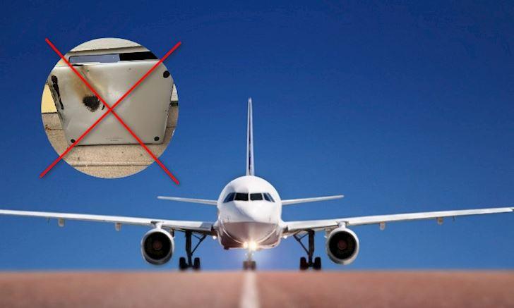 MacBook Pro bị cấm mang lên máy bay vì khả năng pin gây cháy nổ