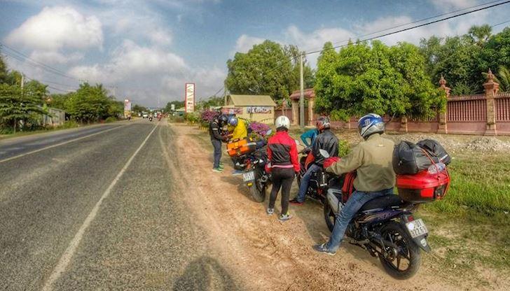 5 điều đặc biệt khi chạy xe máy ra nước ngoài với biker Việt