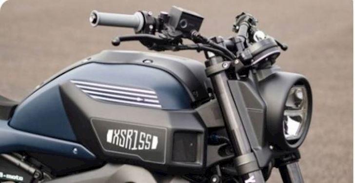 Lộ ảnh Yamaha XSR 155 - Chiếc mô tô đẹp nhất phân khúc