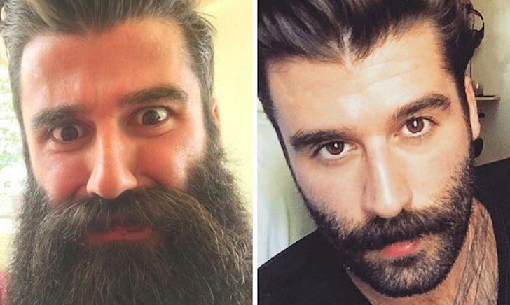 Ngoại hình của chúng ta thay đổi thế nào sau khi cắt tóc và cạo râu?