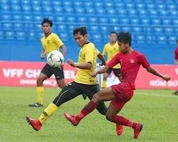 Kết quả bán kết U18 Đông Nam Á 2019: U18 Malaysia quá đẳng cấp