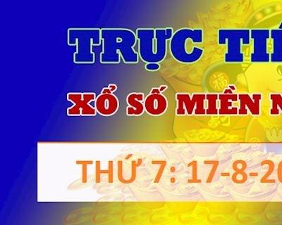 Kết quả xổ số thứ 7 miền Nam Hôm Nay - XSMN ngày 17/8