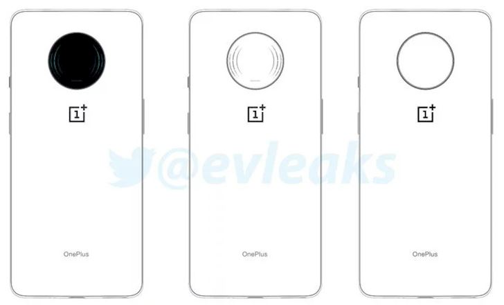 OnePlus 7T lo anh dung Cum camera tron o mat lung giong Nokia 7 2 1
