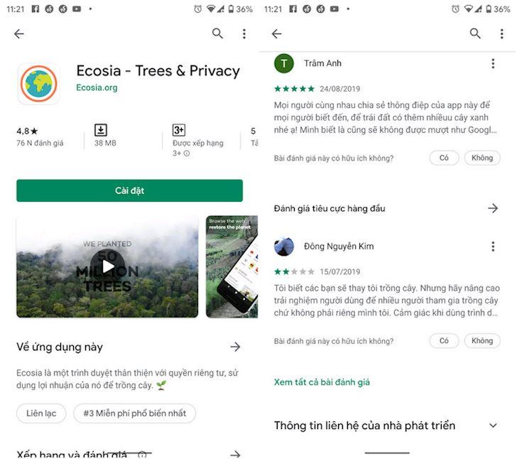 Ecosia Gop suc mon giup trong cay cuu rung Amazon cac ban oi 2