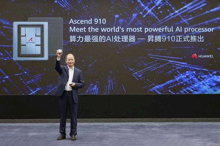 Huawei Ascend 910 Vu khi giup Huawei doi dau Qualcomm Nvidia 1