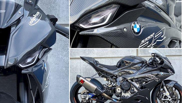 BMW S1000RR 2019 chưa về Việt Nam đã bị hâm he độ full carbon?