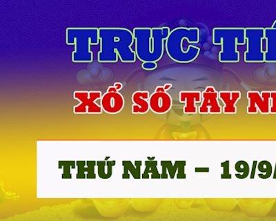 Kết quả xổ số Tây Ninh thứ 5 hôm nay 19/9 - Trực tiếp XSTN 19/9/2019