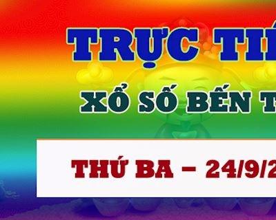Kết quả xổ số Bến Tre thứ 3 hôm nay 24/9/2019 - Trực tiếp KQ XSBTR 24/9
