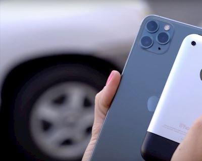 """Thú vị: So sánh ảnh chụp từ """"ông tổ' iPhone 2G và """"cháu chắt"""" iPhone 11 Pro"""