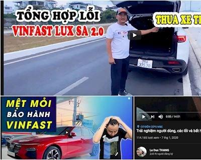 Sau Gogo TV, youtube xuất hiện hàng loạt chủ xe 'góp ý' xe Vinfast
