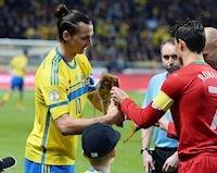 Ibra đá đểu Ronaldo: 'Ngon thì chọn đội hạng dưới mà đá'